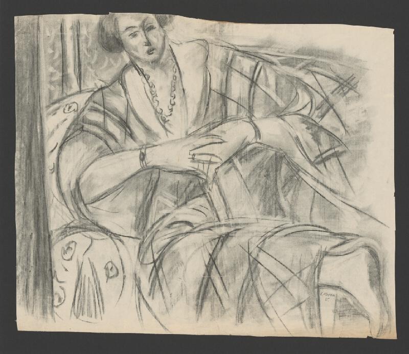 Eugen Nevan - Žena na pohovke