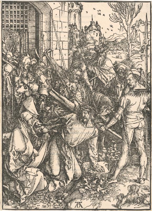 Albrecht Dürer – Nesenie kríža