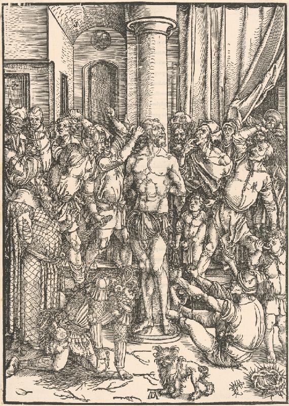 Albrecht Dürer – Bičovanie Krista