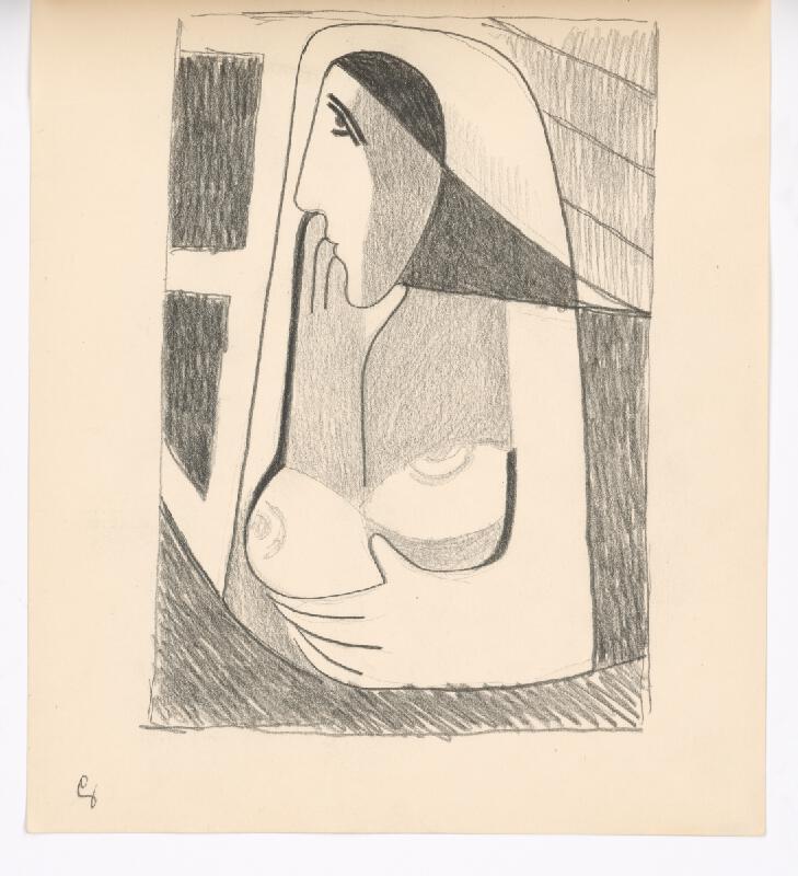 Mikuláš Galanda - Žena pri okne