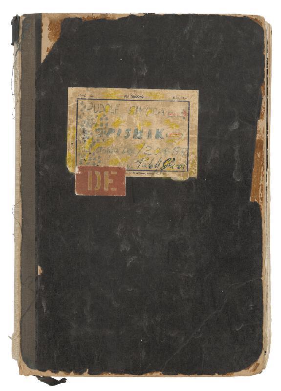 Rudolf Sikora - Zápisník
