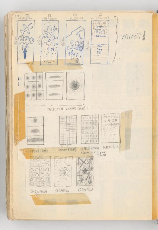 Rudolf Sikora - Konceptuálne kresby (miniatúry konceptov)
