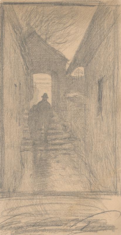 Ferdinand Katona - Cestou z cintorína