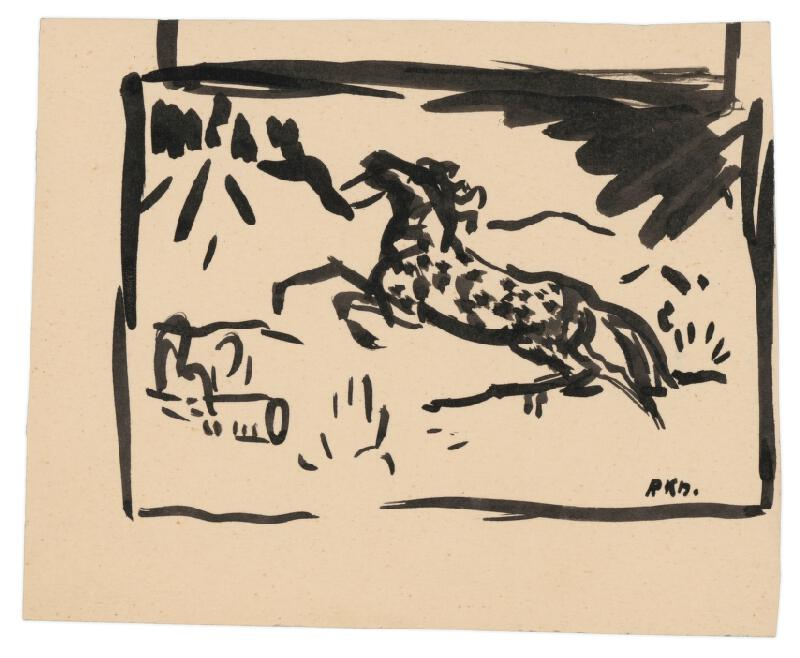 Arnold Peter Weisz-Kubínčan – Kôň a ženská tvár