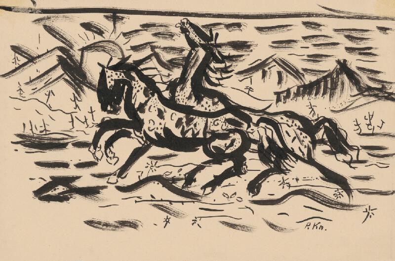 Arnold Peter Weisz-Kubínčan – Cvalajúce kone