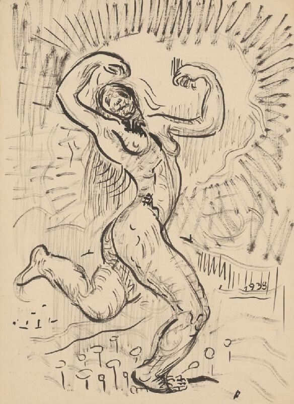 Arnold Peter Weisz-Kubínčan - Postava ženy