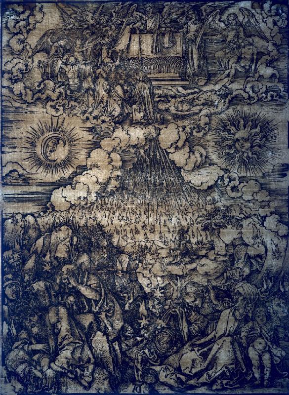 Albrecht Dürer - Otvorenie šiestej pečate