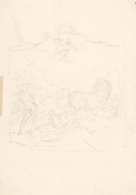 Taliansky majster zo 17. storočia – Bojová scéna