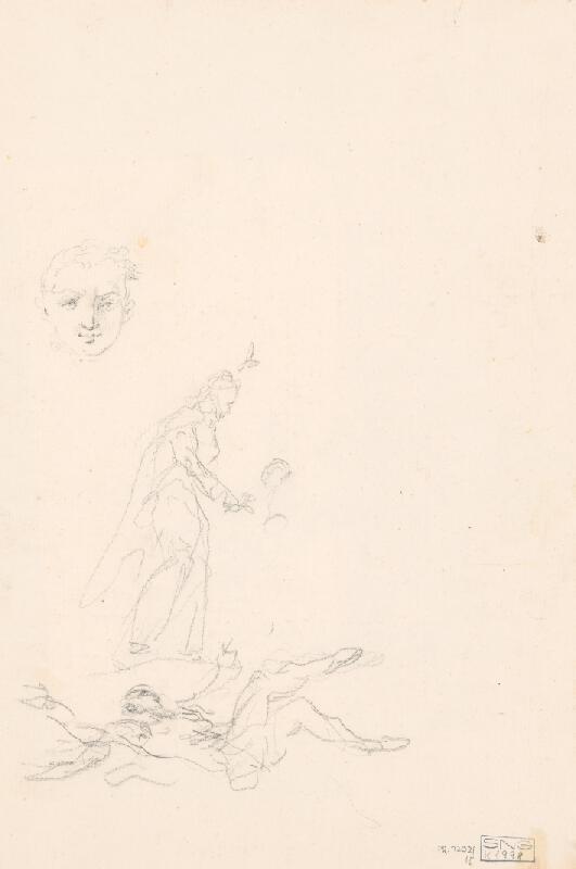 Francúzsky majster z 18. storočia - Figurálna kompozícia