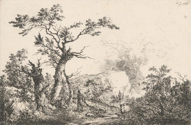 Laurent Guyot - Krajina so stádom