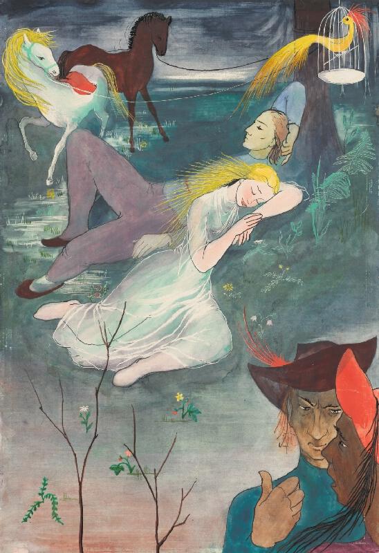 Mária Želibská - Vták Ohnivák a líška Ryška