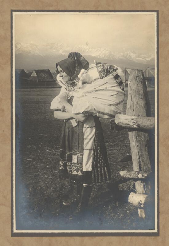 Karel Plicka - Žena z Važce pod Tatrami