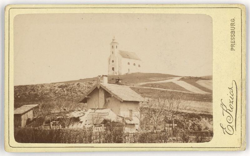 Eduard Kozič - Starý kostol v Lamači