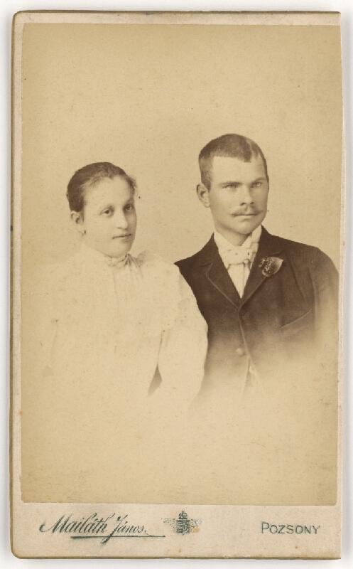 Ján Majláth - Manželský pár