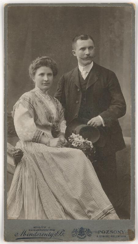 Béla Mindszenty - Dvojportrét manželov
