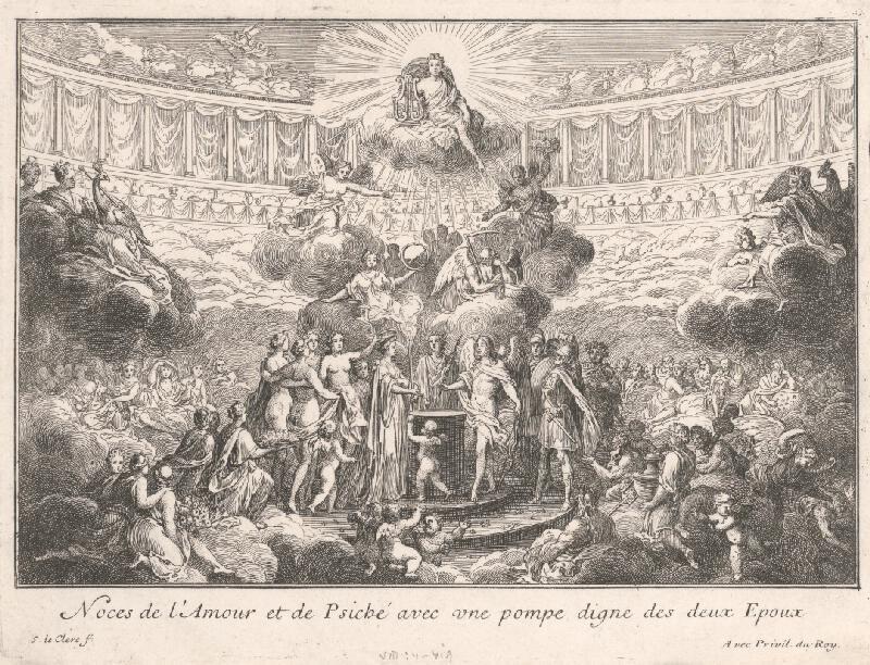 Sebastien Le Clerc st. - Triumf Amora a Psyché