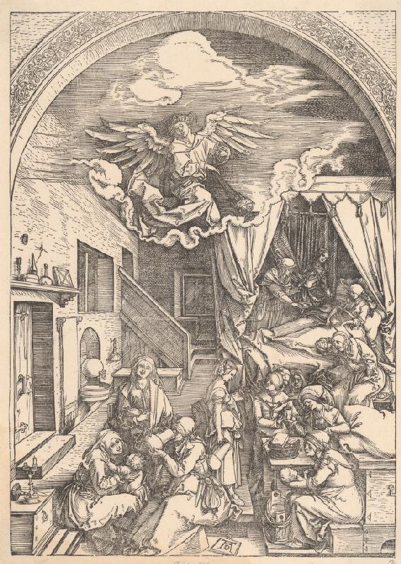 Albrecht Dürer – Narodenie Márie