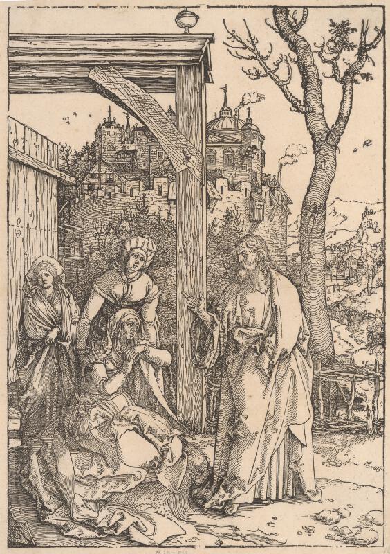 Albrecht Dürer - Kristus a matka