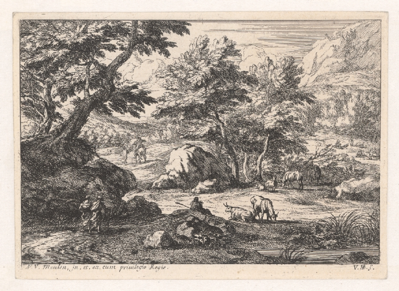 Jan van Huchtenburgh - Krajina