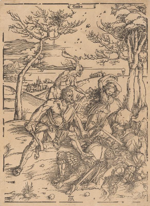 Albrecht Dürer - Herkules