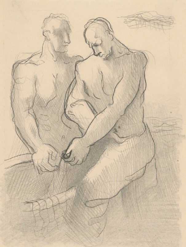 Mikuláš Galanda - Dvaja rybári
