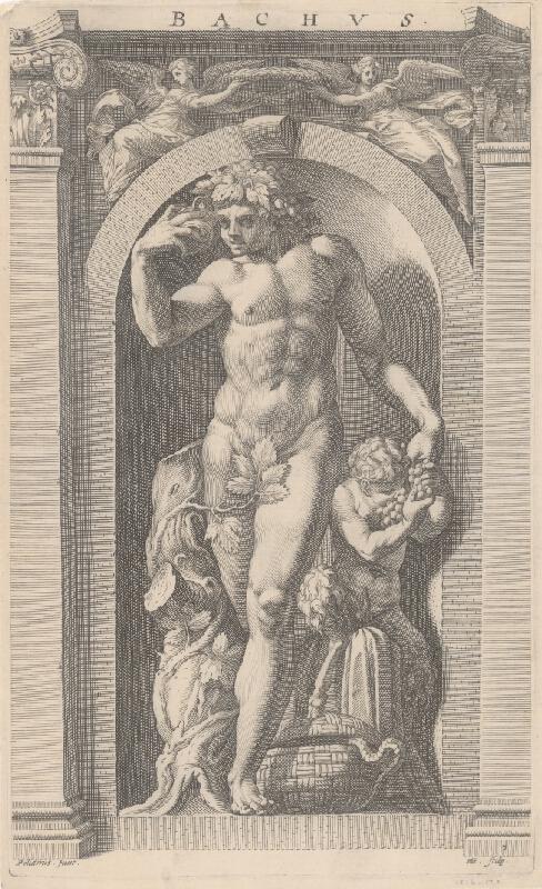 Hendrick Goltzius, Polidorus - Bacchus