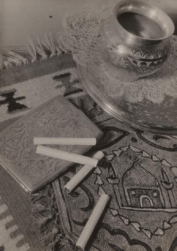 Miloš Dohnány - Zátišie s rozsypanými cigaretami