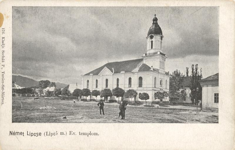 Pavol Socháň - Nemecká Ľupča. Evanjelický kostol