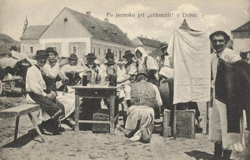 Pavol Socháň - Pri oldomáši v Detve
