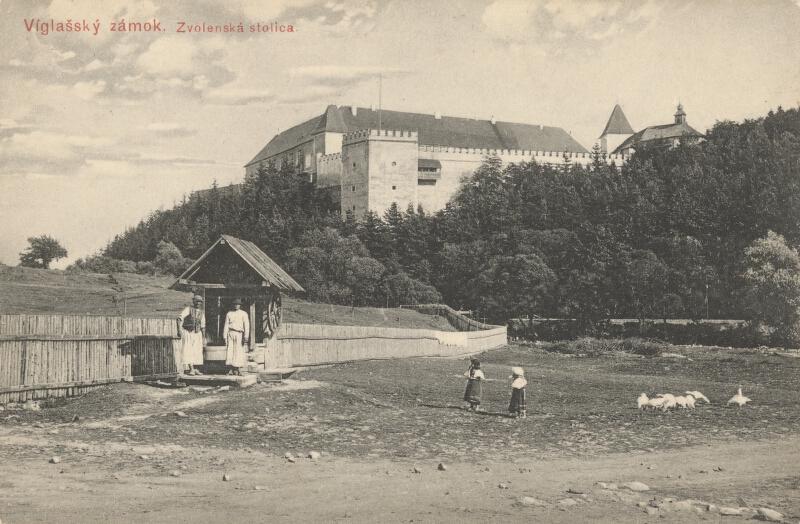 Pavol Socháň - Vígľašský zámok