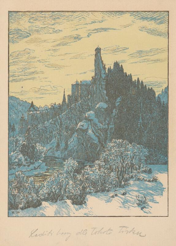 Karel Vik - Oravský hrad