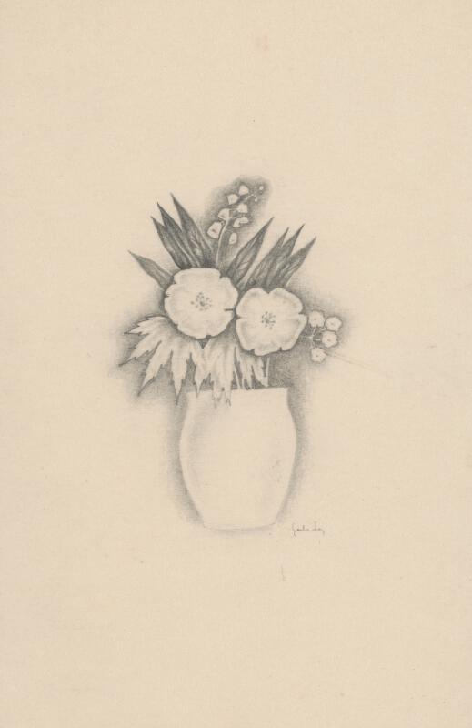 Mikuláš Galanda - Kytica kvetov vo váze