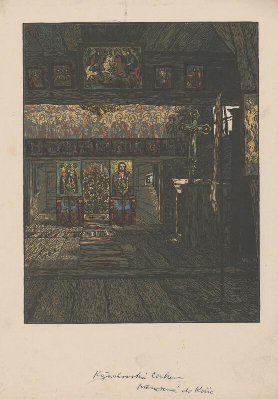 Karel Vik - Kožuchovská cerkev