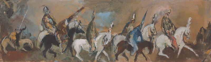 Vincent Hložník - Cirkusoví jazdci