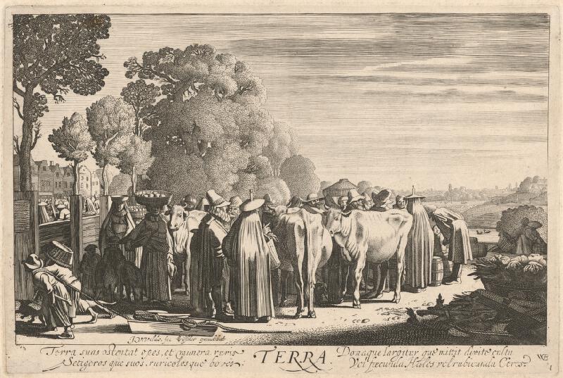 Jan van de Velde ml., Willem Pietersz Buytewech, Claes Jansz. Visscher - Zem