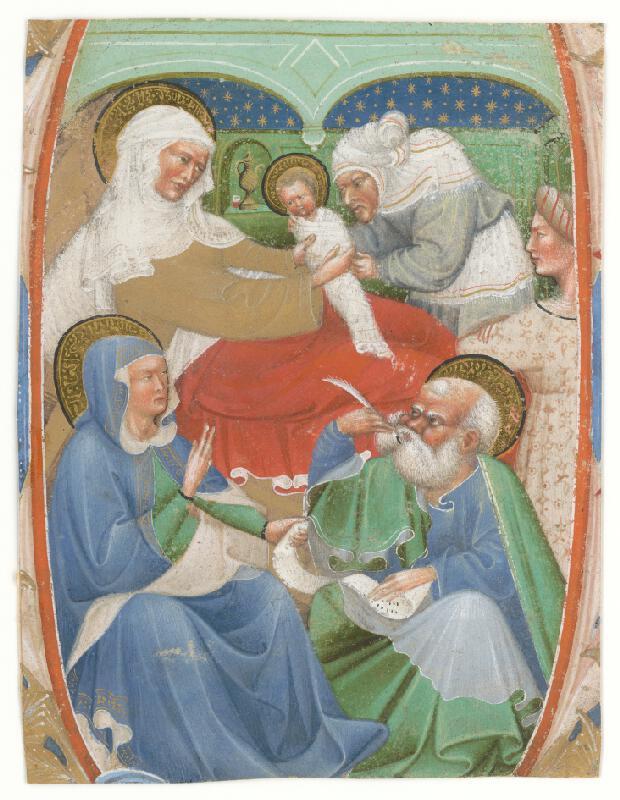 Majster graduálu z Murána - Narodenie Svätého Jána Krstiteľa