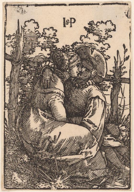 Hans Sebald Beham - Milenci