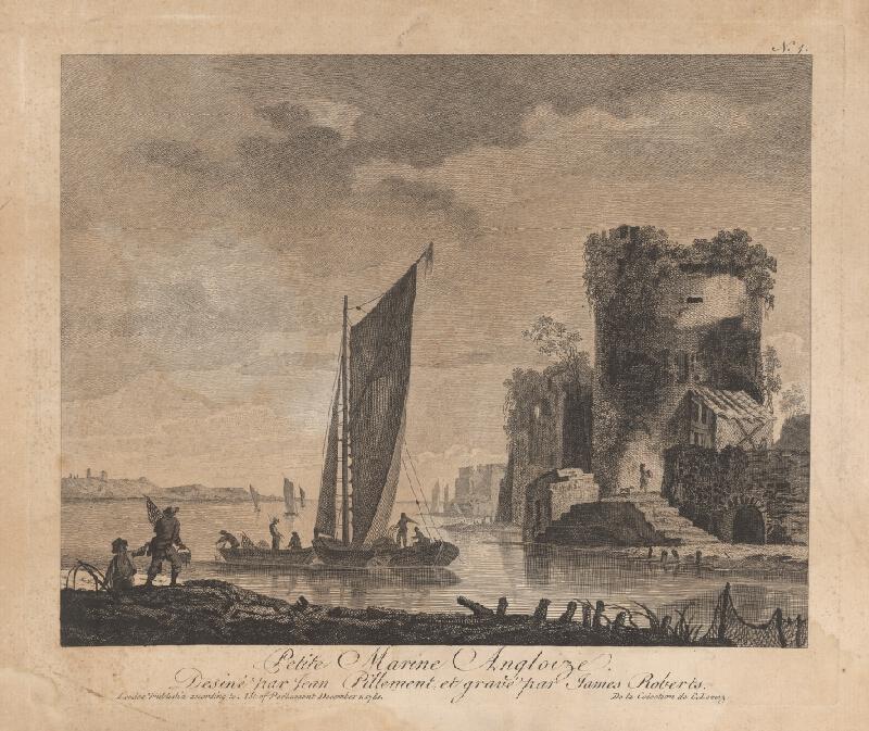 James Roberts, Jean Baptiste Pillement - Malá anglická marina