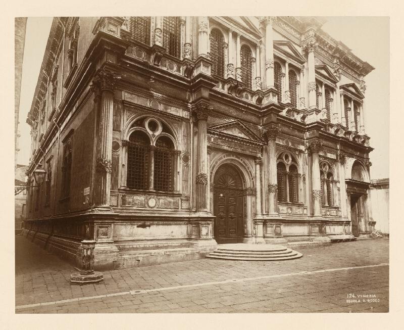 Neznámy autor - Benátky. Škola sv. Rocha (Scuola Grande di San Rocco)