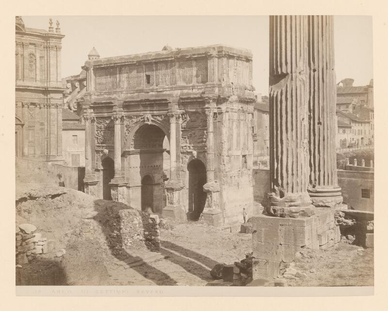 Neznámy autor - Rím. Oblúk Septimia Severa (Arco di Settimio Severo)