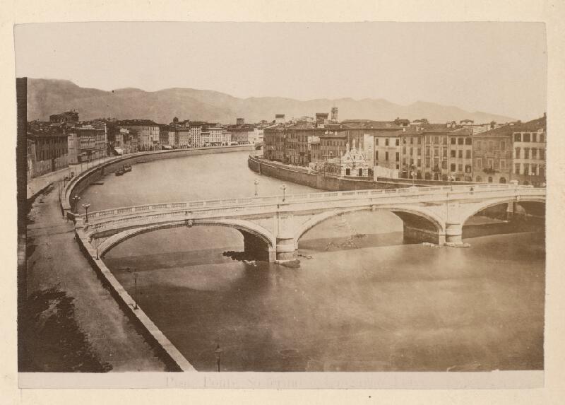 Neznámy autor - Pisa. Most Solferino (Ponte Solferino)