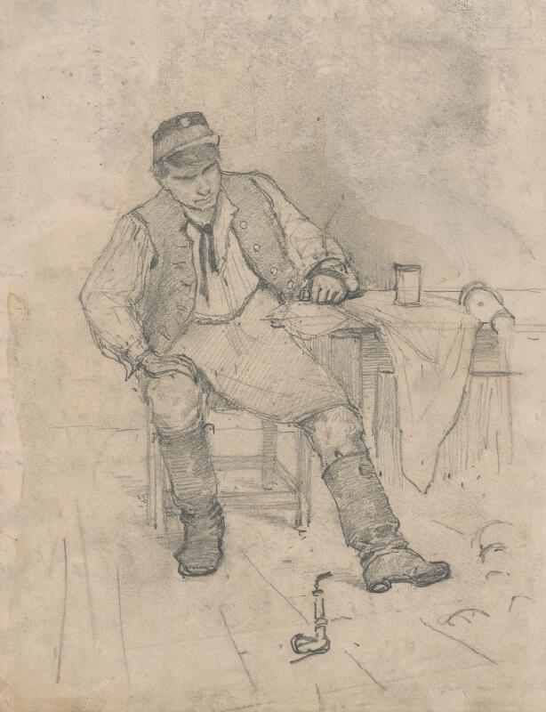 Ladislav Mednyánszky - V krčme