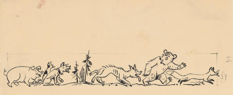 Karol Ondreička - Zvieratká na pochode