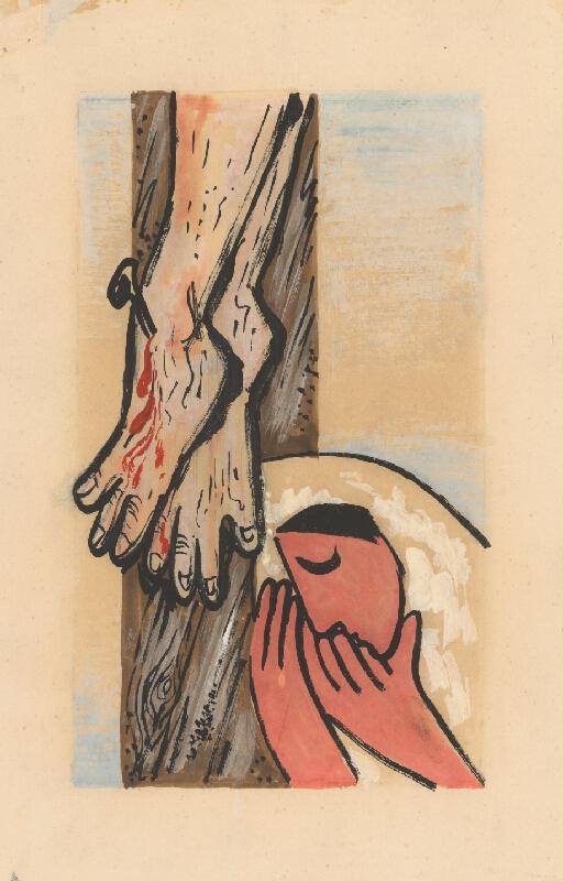 Mikuláš Galanda - Pod krížom
