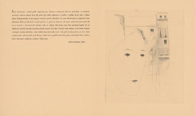 Josef Šíma – Arthur Rimbaud