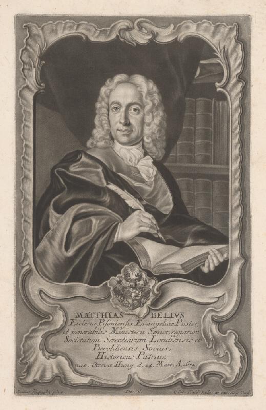 Johann Jacob Haid, Ján Kupecký, August Vind - Matej Bél