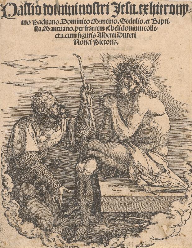 Albrecht Dürer – Ecce homo