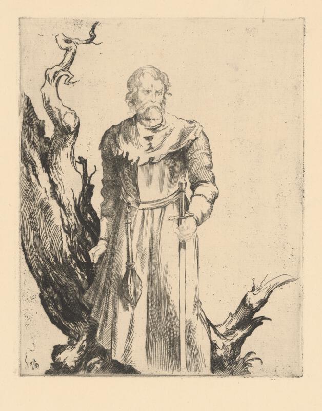 Jaroslav Vodrážka - Postava husitu