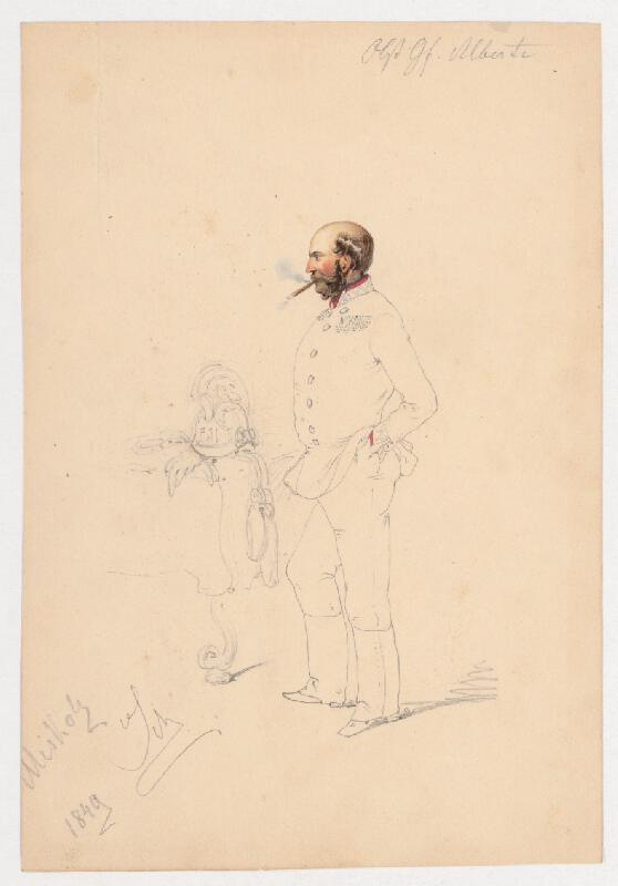 Friedrich Carl von Scheidlin - Muž s cigarou