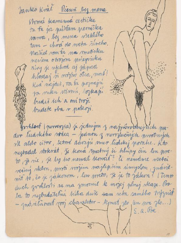 Ervín Semian - Náčrtník - 55 listov
